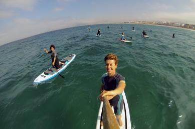 Paddlesurf-equilibrio